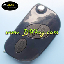 High quality 3 buttons flip plastic key fob case for maserati key