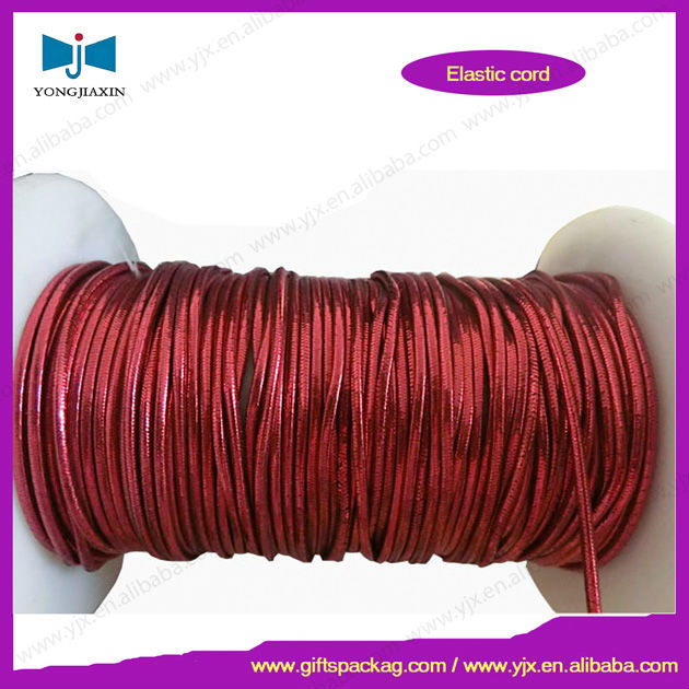 elastic fabric covered cord