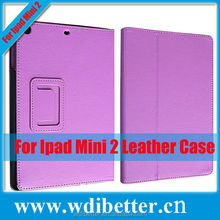 Frosted Leather Flip Case Cover for iPad Mini Retina/mini 2