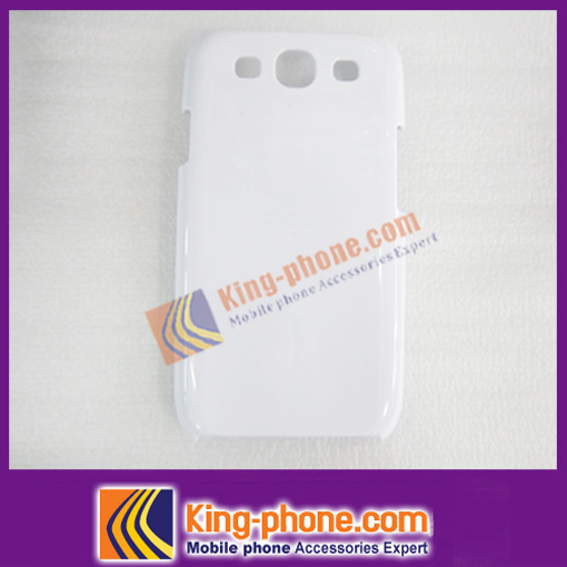 Wholesale factory price case PC material hard phone case protective back cover for Samsung I9300