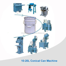 Machines for tin can manufacturing process