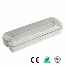 Fire-Retardant Surface Mounted Battery Operated IP65 Fluorescent Emergency Light
