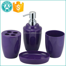 2017 wholesale purple bathroom accessories set