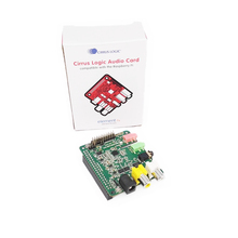 Cirrus Logic Audio Card for Raspberry Pi A plus,B plus and raspberry pi 3 model B wolfson 2