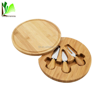 Customized Size Round Natural Original Bamboo
