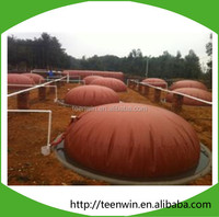 Cooking Fuel Application Pvc Red-Mud Biogas Storage Bag Digester Plant