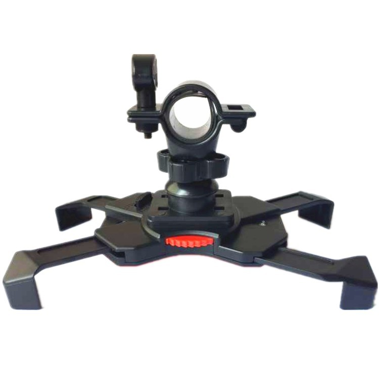 2017 hot product X shape 360 degree road/mountain bike bicycle mobile mount cell phone holder motorcycle phone bracket