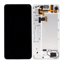 display touch screen digitizer assembly with frame for microsoft for nokia for lumia 650 lcd