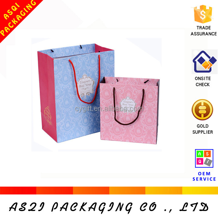 china supplier shopping paper best bag company