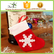 cute decoration christmas disposable slipper socks for sell