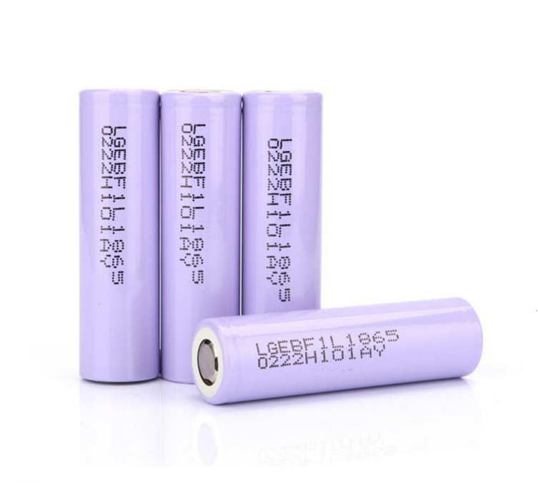Big Capacity INR18650F1L Cylindrical 3350mAh 3.6V Lithium Ion 18650 Battery for Power Bank