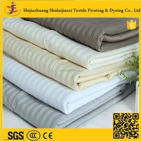 use in hotel bedding luxury 5 star white bedding set fabric
