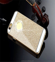 Luxury Cell Phone Glitter Case Sparkle Plastic Hard Phone Cover Case for iPhone 4 4s 5 5s 6 for iPhone 6 Plus