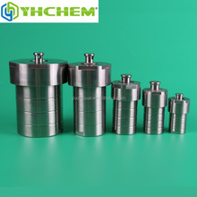 Stainless steel vessel with ptfe sealing