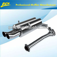 stainless steel exhaust performance exhaust system for BMW