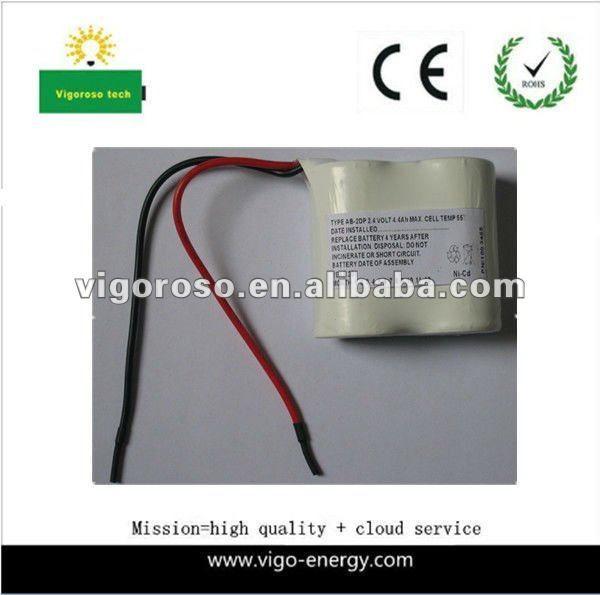 NI-CD 2.4v 4.4AH MAX cell 55 degrees rechargeable battery