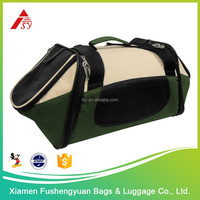 China wholesale 600D polyester waterproof pet carrier / pet cage