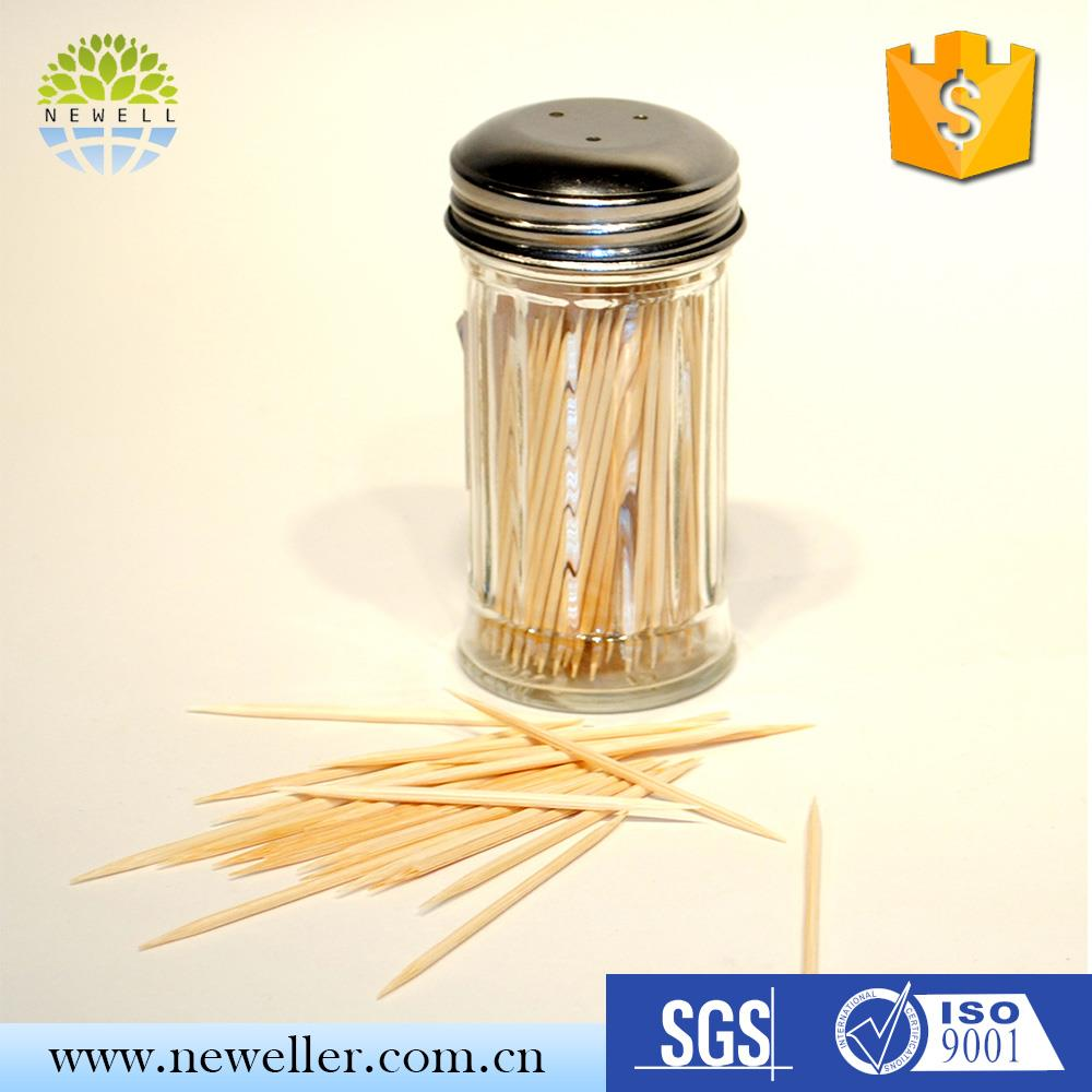 Walmart USA FDA standard high quality advertising toothpick for American Market