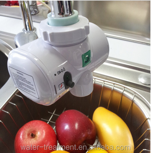 Kitchen vegetable or fruit disinfection ozone faucet water filter