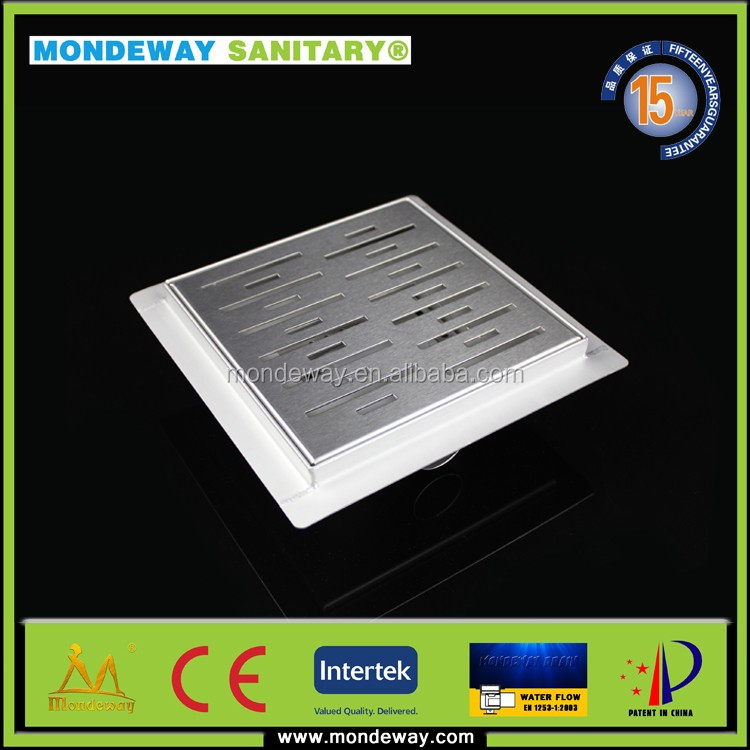 Land concrete stamping luxury storm water shower run drain channel