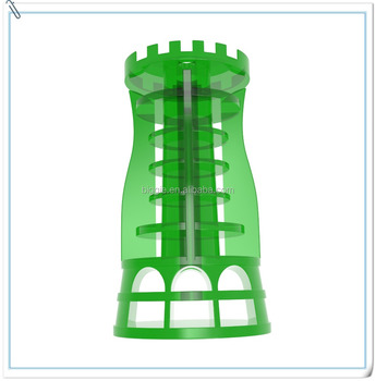 green herbal mint toilet tower style air freshener refill for dispenser