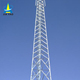 Lattice galvanized steel angle iron gsm antenna mast and communication tv tower
