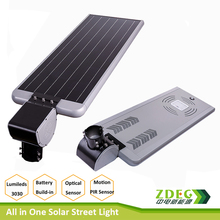 15 Watt -LED Solar Street Light All in One Solar with Sensor Series - Professional Grade Street Solar Light