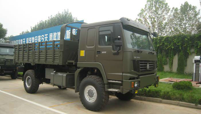 Brand New Howo 4x4 cargo truck ZZ2167M5227C1 for sale