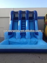 CE residential water slide inflatable water slide with pool