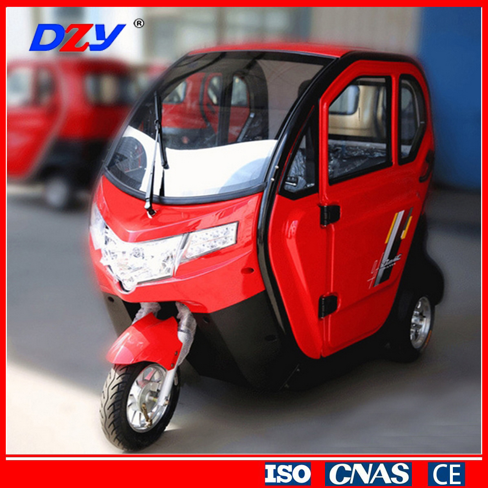 Chinese suppliers mini electric automobiles hybrid cars three wheeler taxi for sale