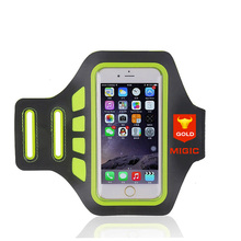 FREE SAMPLE Custom Safety Flashing LED Lighted Sport Running Armband for Iphone7+