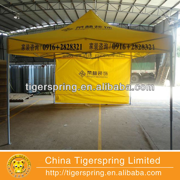 Professional anti-corruption cheap custom printed canopy tent