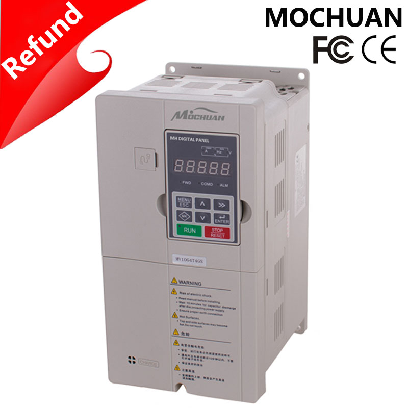 vfd vector control 11kw 50hz 60hz 3phase 400V variable speed drive for water pump