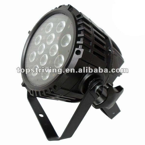 12*3 in 1 RGB 9W high MCD LEDs color strobe effect outdoor waterproof architectural spot par lights