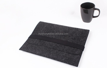 smart phone non woven polyester felt laptop sleeve bag