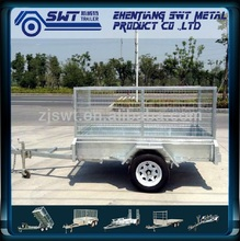 Hot Gal 7x5 Cage Trailer of Full weld & Tilting Type