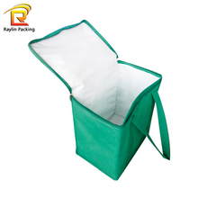 Insulated Ice Cream Carrier Bag Wine Cooler Thermal Tote Bag For Food