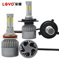2017 Newest offroad auto parts h4 high power led headlight bulb h4 6000k headlamps