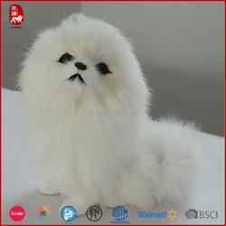 This year top sale lovely customize lifelike plush dog for girls or kids