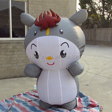 Commercial cheap outdoor life size inflatables advertisement doll for sale / giant advertising inflatable dragon for activity