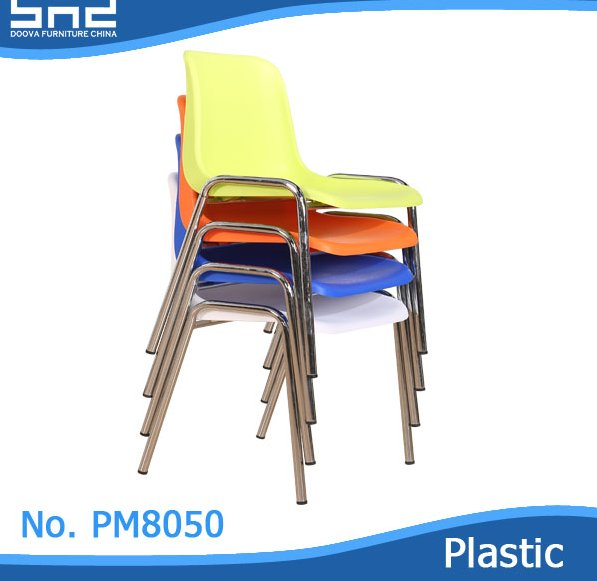 Modern Furniture Cheap Dining Plastic Stackable Chairs