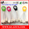 colorful ring 4 in 1 designs usb cable,promotion business gift item