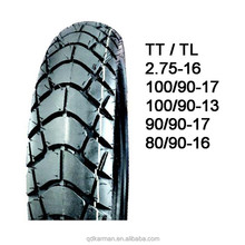 dual sport motorcycle tire 2.75-16 90/90-17 80/90-17