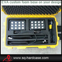 hard case with die cut foam for led equipments
