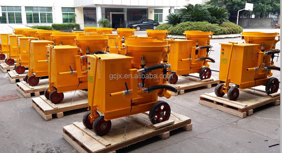PZ-6 shotcrete pumps for 6m3/h output