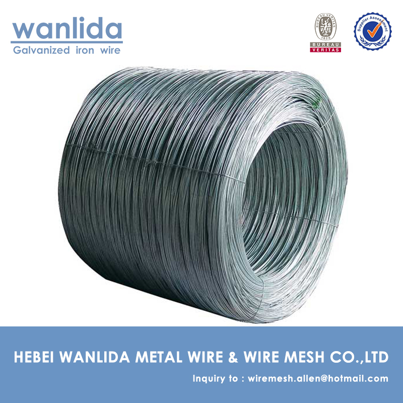 Real factory galvanized iron wire price