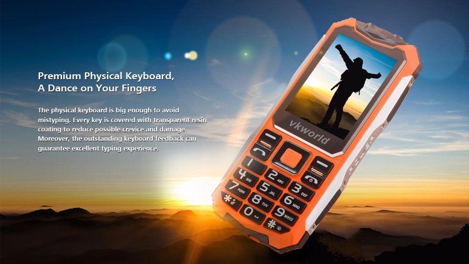 Substantial than UMI Cheap Phone vkworld Stone V3s Unlocked 2G Cell Phone Long Time Standby Rugged Phone