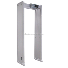 Digital touch screen security door frame walk trough gate metal detector