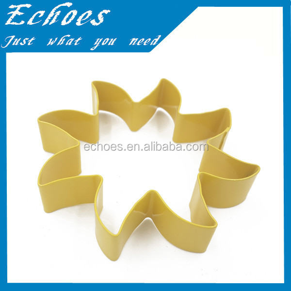 Custom design cookie cutters flower shapes for wholesale