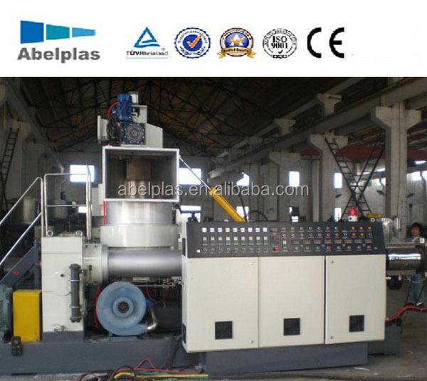 pp pe film plastic recycling granulator machine